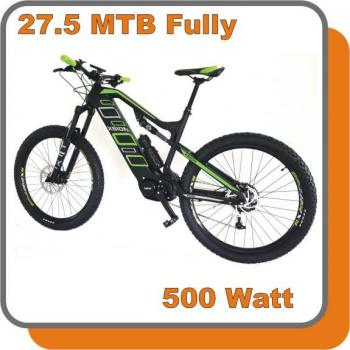 E-Bike MTB Carbon Fully Phantom E-Bike 500W 48V 13,6ah Akku