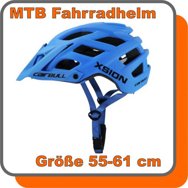 Xsion MTB Helm Gr. 55-61 blue